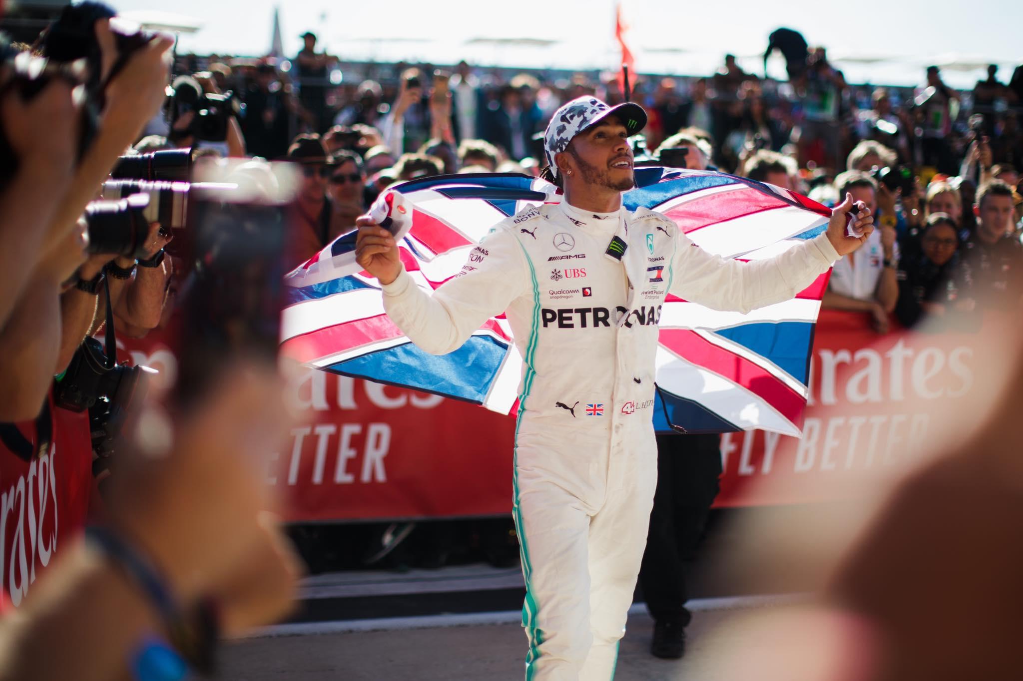 Cette fois c'est fait pour Lewis Hamilton champion du monde F1 pour la 6e fois