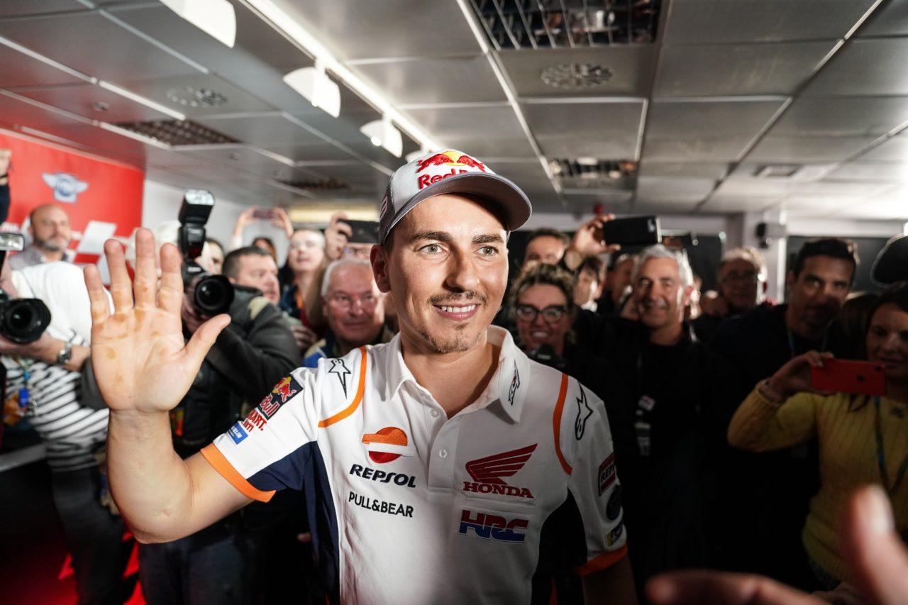 Jorge Lorenzo met fin à sa carrière (Photo Honda pro racing)