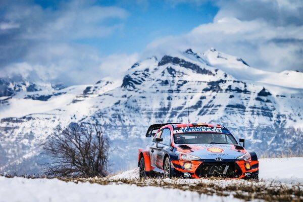 Thierry Neuville démarre bien sa saison WRC © Hyundai Motorsport