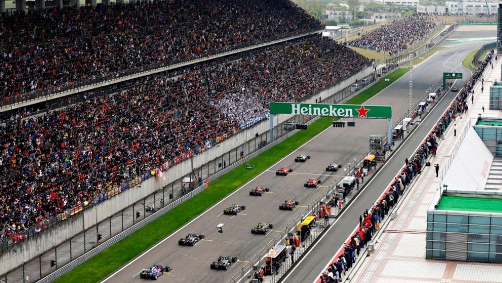 F1 : Le GP de Chine reporté
