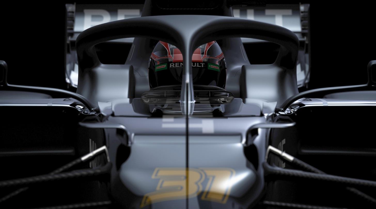 F1 : Renault présente (un peu) la R.S. 20
