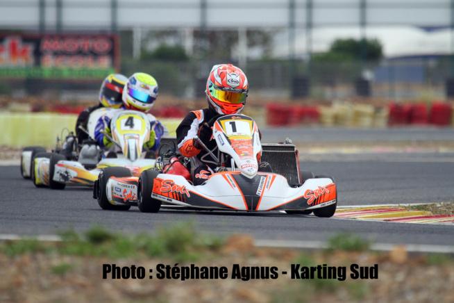 Pierre Loubère monte en puissance en Karting