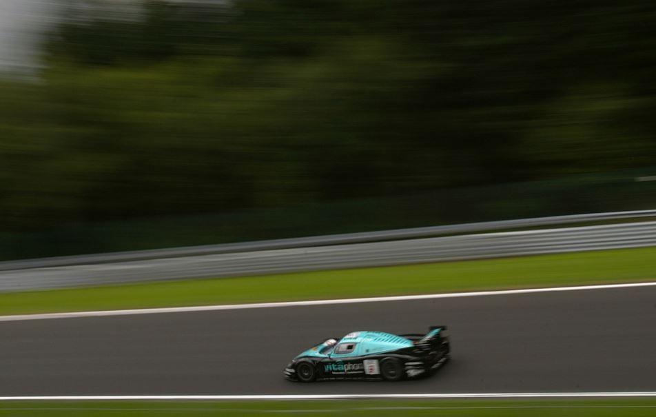 La Maserati MC 12 sur le circuit de Spa (Photo SRO)