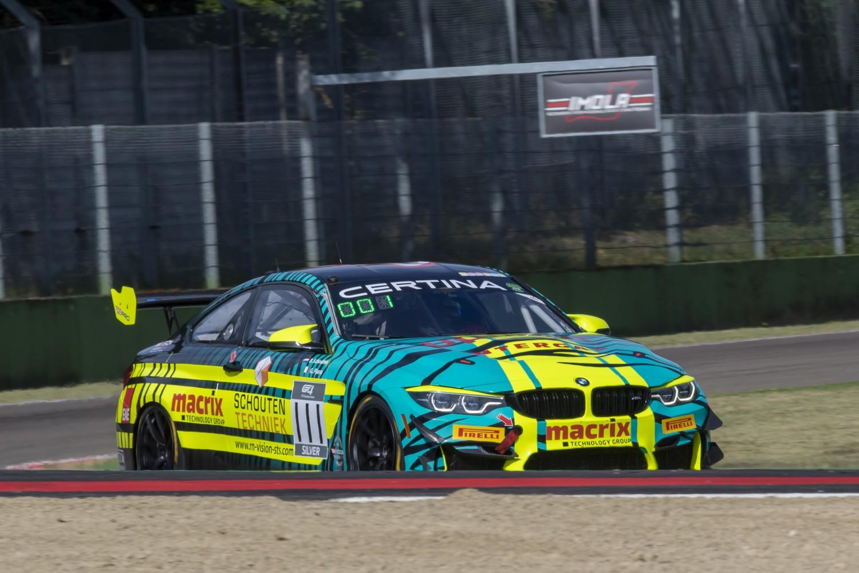 Il faisait bon rouler en BMW sur ce circuit.d'Imola (Photo Sro Motorsport)