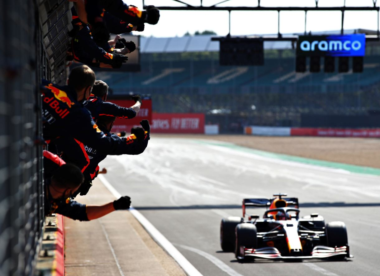 Une victoire d'équipe pour Red Bull et Max Verstappen (Getty Images / Red Bull Content Pool)