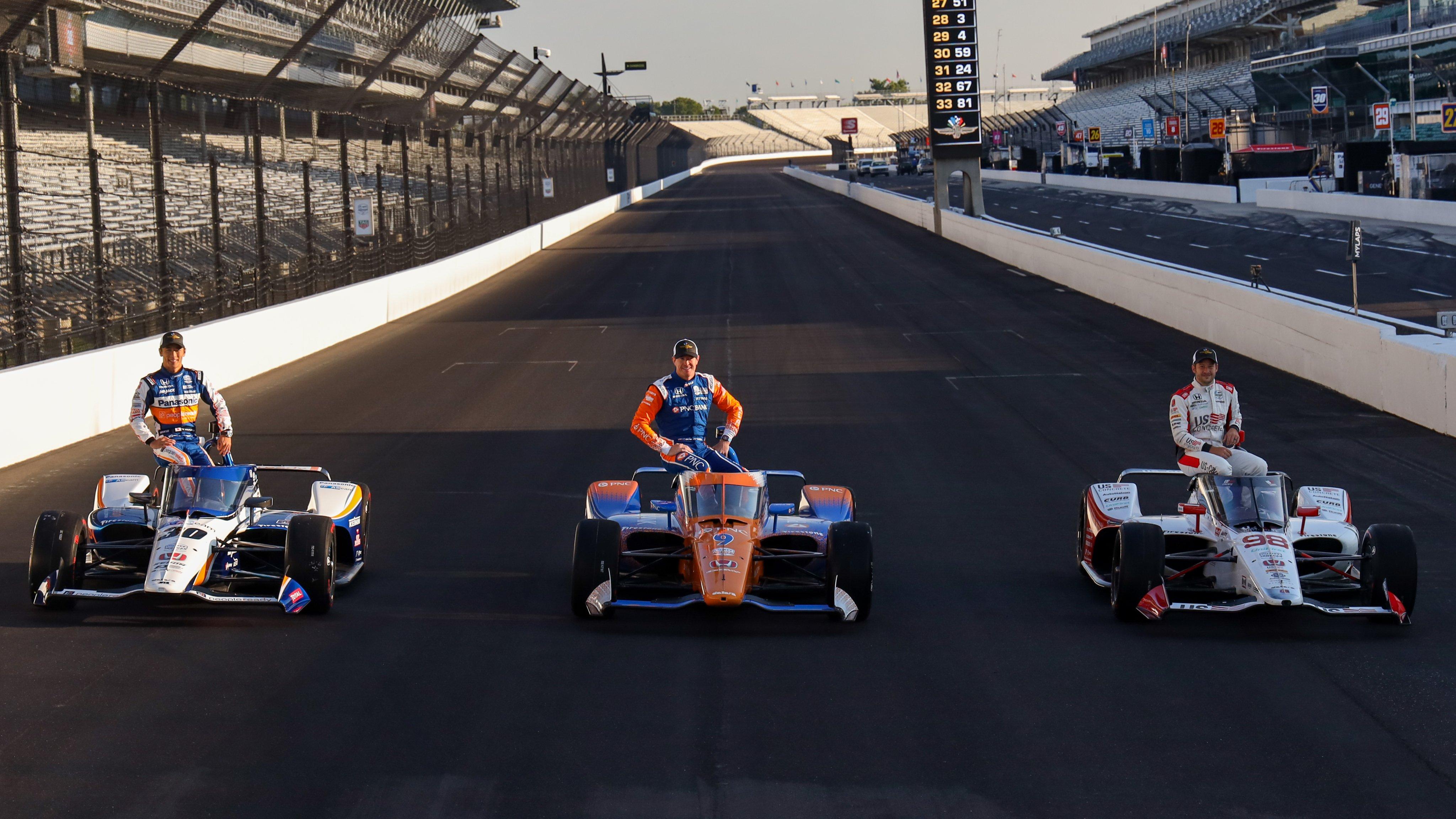 Un Andretti en pole © Indycar