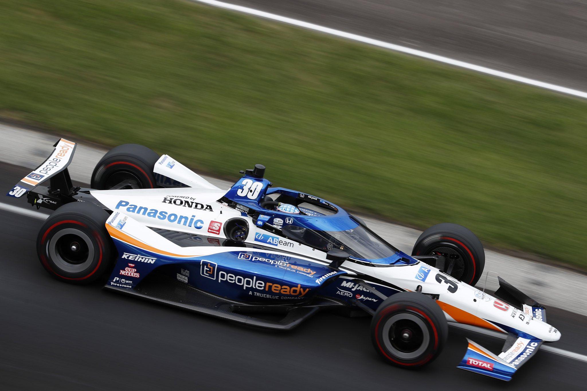 Takuma Sato © Indycar