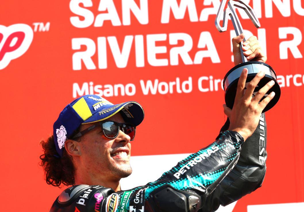 Course parfaite pour Franco Morbidelli (Yamaha Petronas)