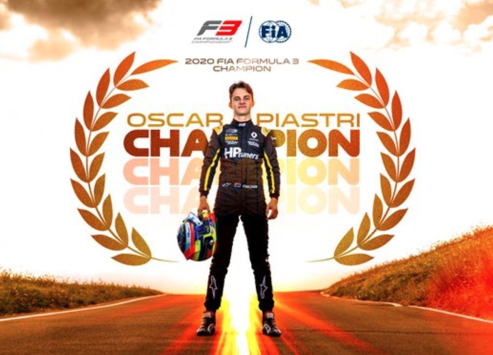 F3 FIA : Mugello, titre pour Piastri en course 2