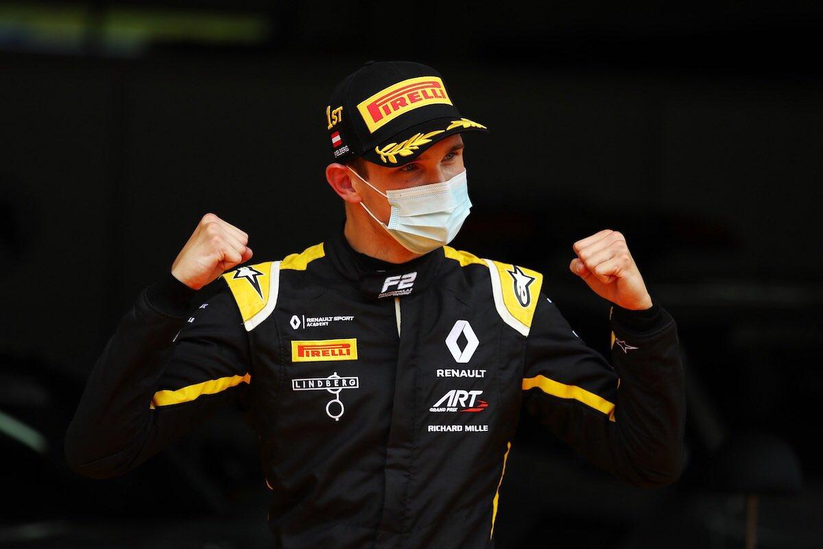 Lundgaard vainqueur  – © FIA F2