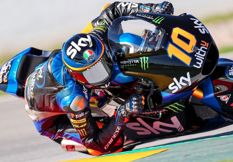 Luca Marini accroit son avance au championnat