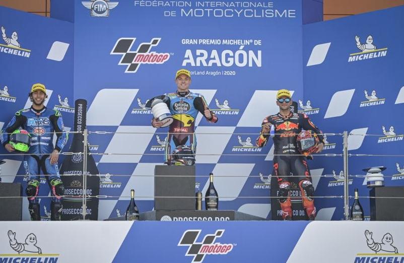 Le podium – © MotoGP.com