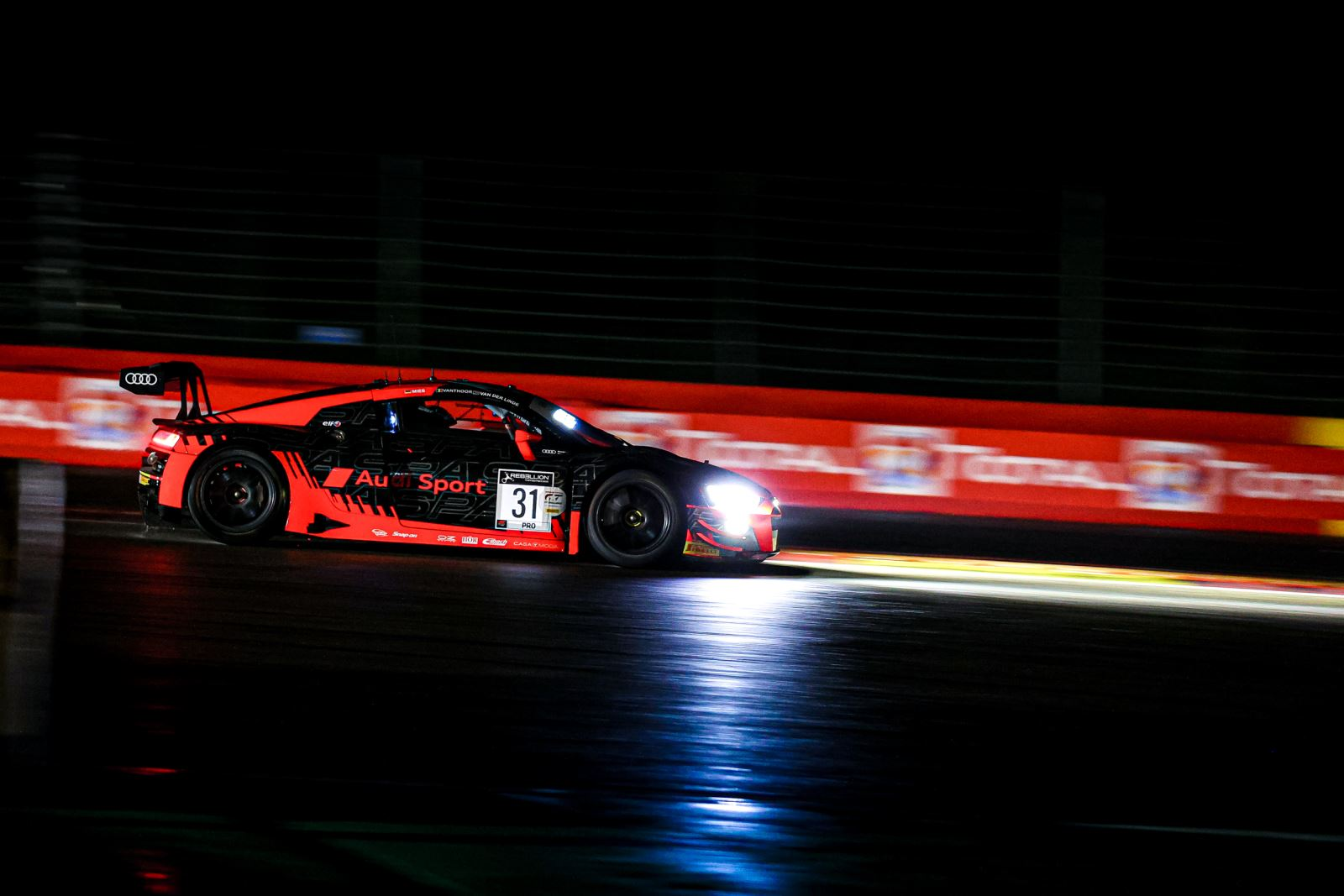 Audi en pole provisoire à Spa
