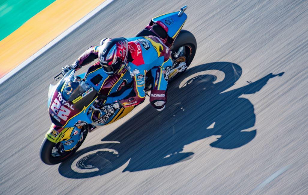 Sam Lowes, plus vite que son ombre en Moto2
