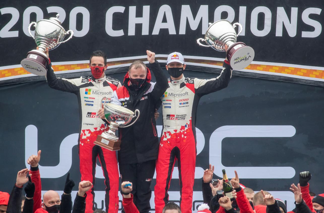 Une issue de championnat heureuse pour les français (Photo Toyota)