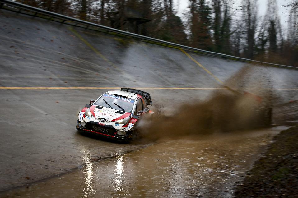 Des conditions météos très difficiles à Monza