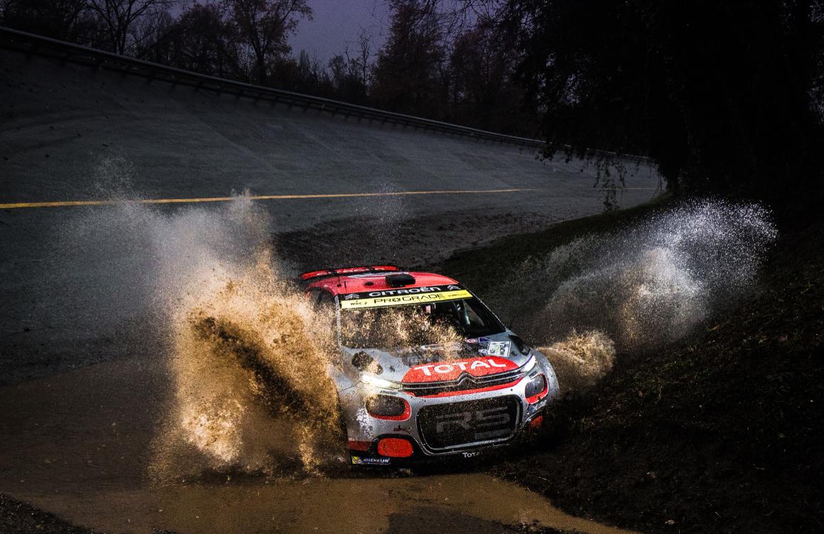 Un beau succès pour la C3 R5 (Photo Citroën Racing)