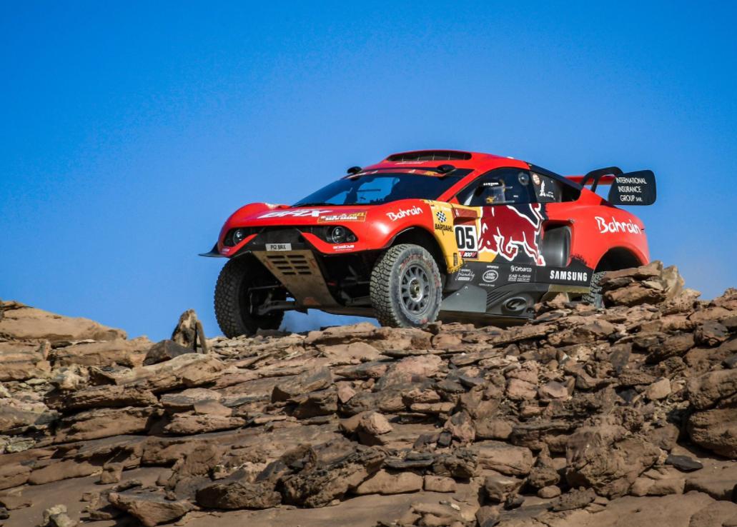 Le Dakar 2021 particulièrement corsé pour Loeb et Elena