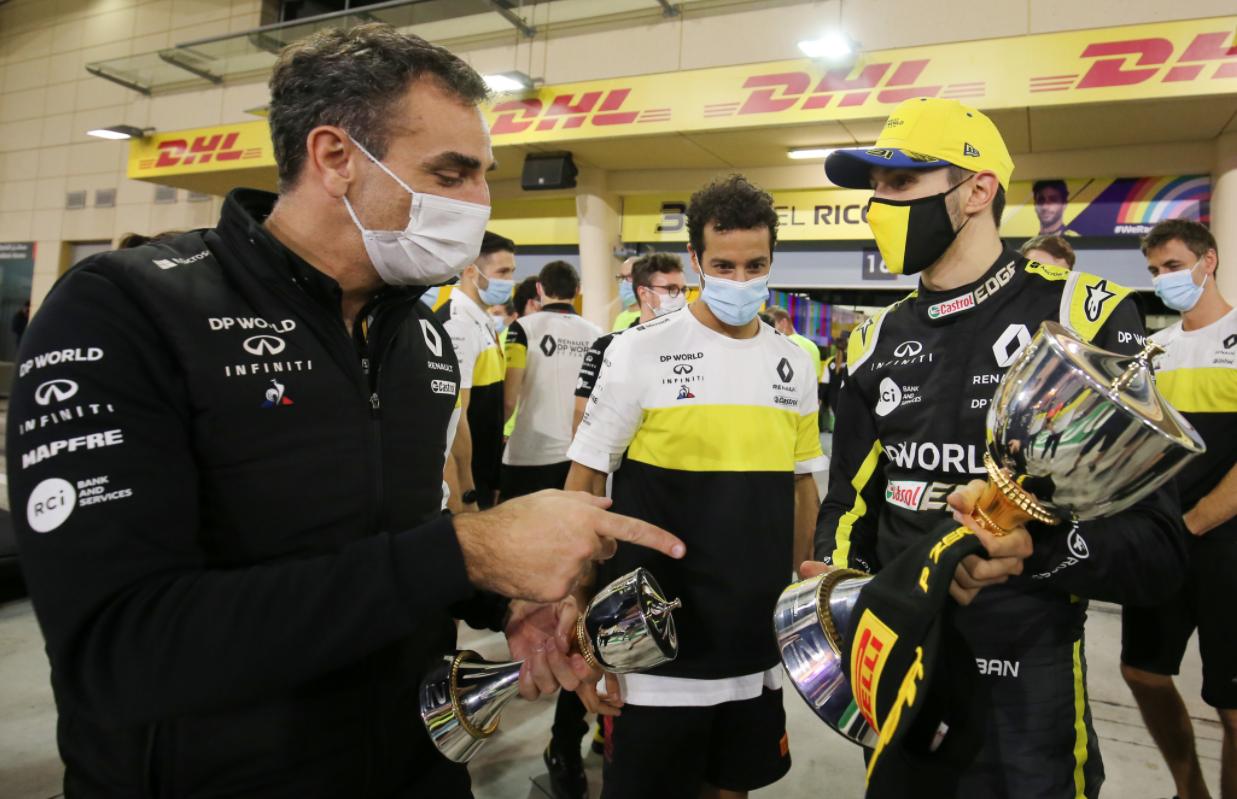 Sous l'ère Abiteboul, Renault a eu du mal à retrouver le chemin de la performance (Photo Renault Sport)