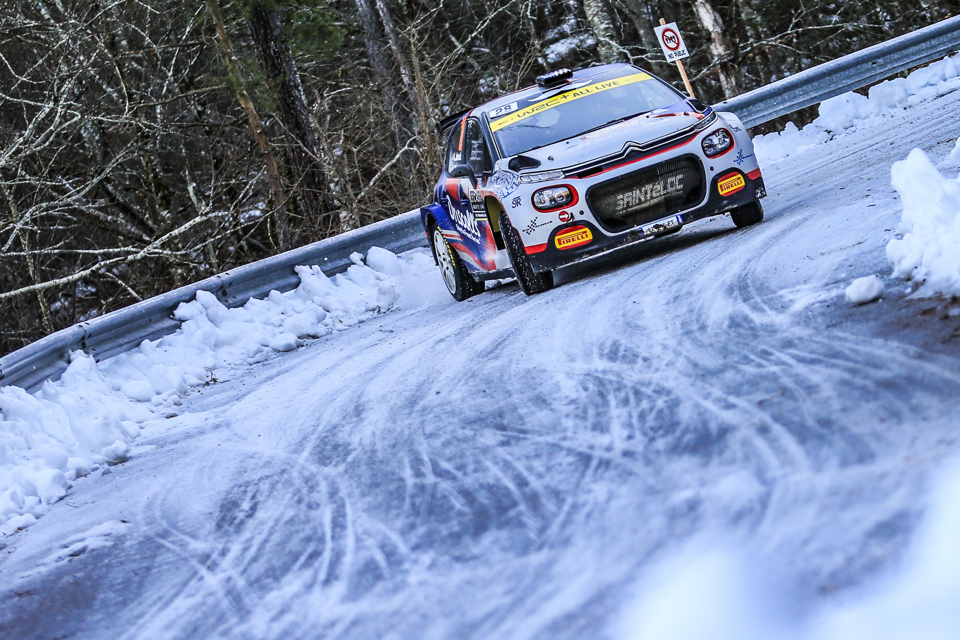Des C3Rally2 à l'aise au Monté-Carlo (Photo Citroën racing)
