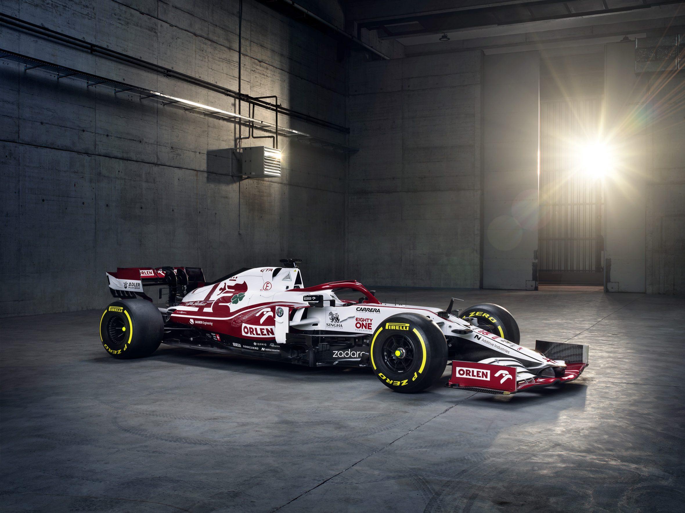 La nouvelle C41 © Alfa Roméo F1