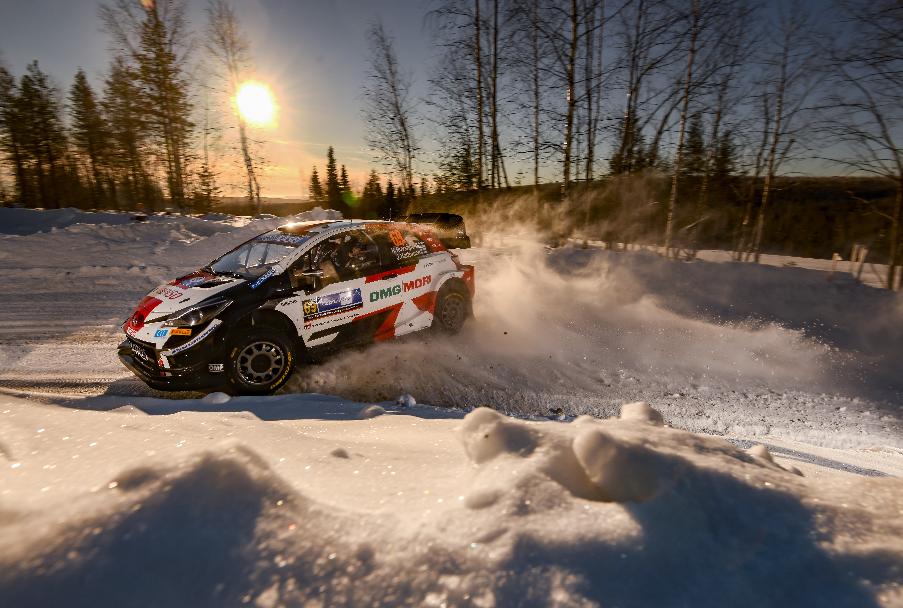 Rovenpera est le plus jeune pilote à mener le WRC