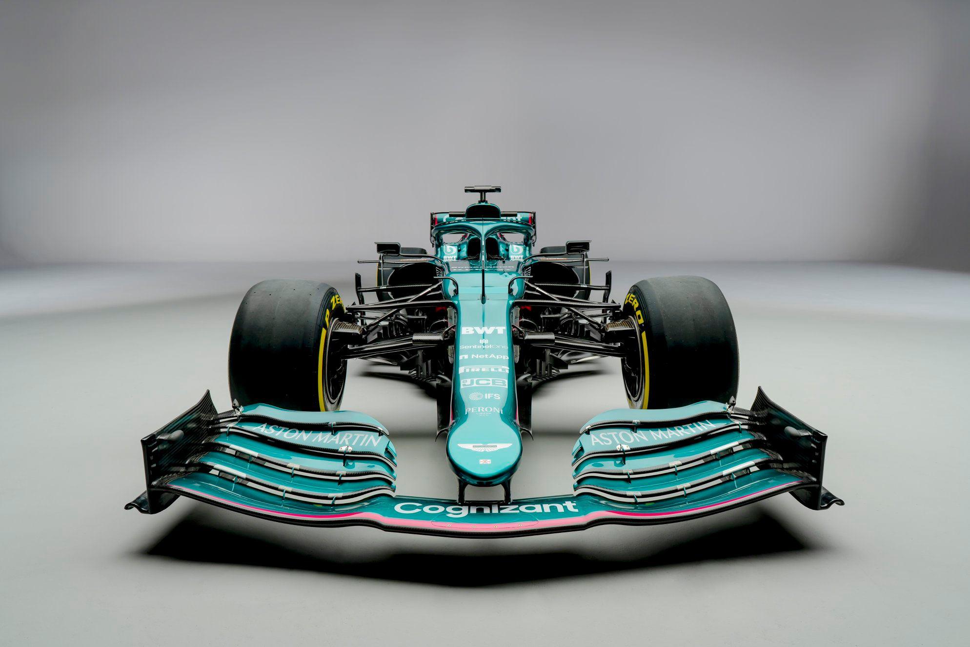 Le vert Anglais pour une F1 résolument moderne