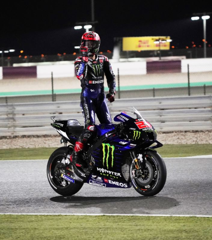 Fabio Quartararo s'impose une semaine après son coéquipier (Photo Yamaha)