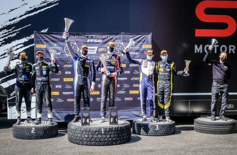 Victoire en course 1 et catégorie Silver pour Akka Asp (Photo D.Bogaerts)