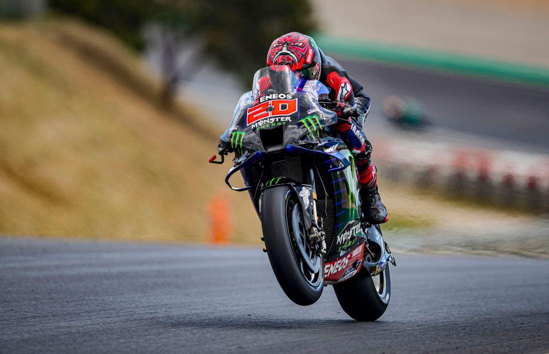 Parfaite maîtrise pour Quartararo au Portugal (Photo Yamaha)