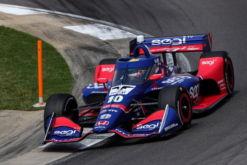 Alex Palou en action – © Indycar