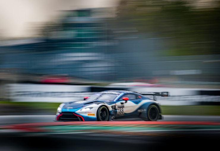 Aston Martin pour la Pro-Am (Photo J.Benichou SRO)