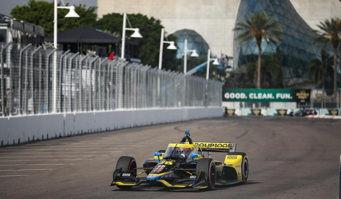 Herta victorieux – © Joe Skibinski Indycar
