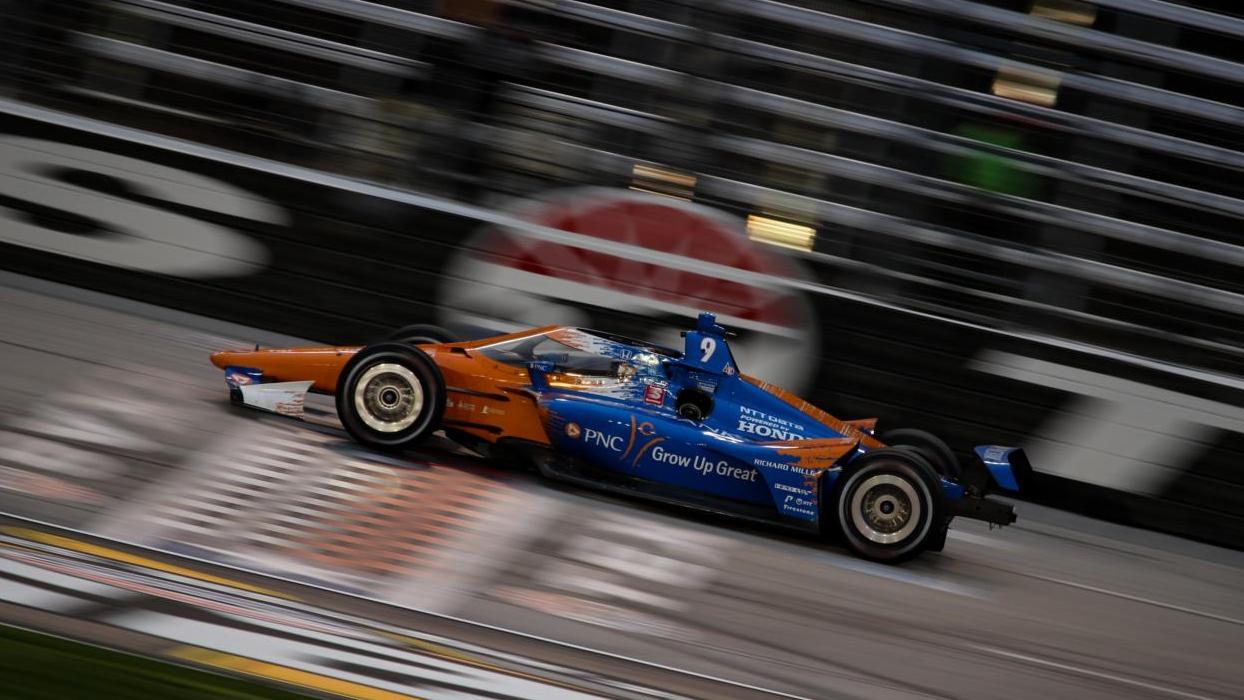 Victoire pour le Champion Scott Dixon © Joe Skibinski - Indycar