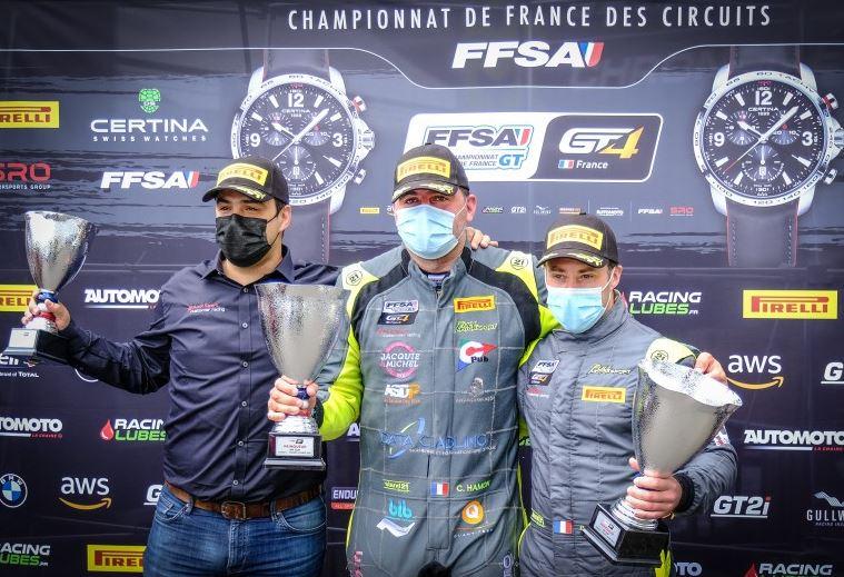 La victoire dans le dernier tour pour Hamon et Huteau (Photo D.Bogaerts)