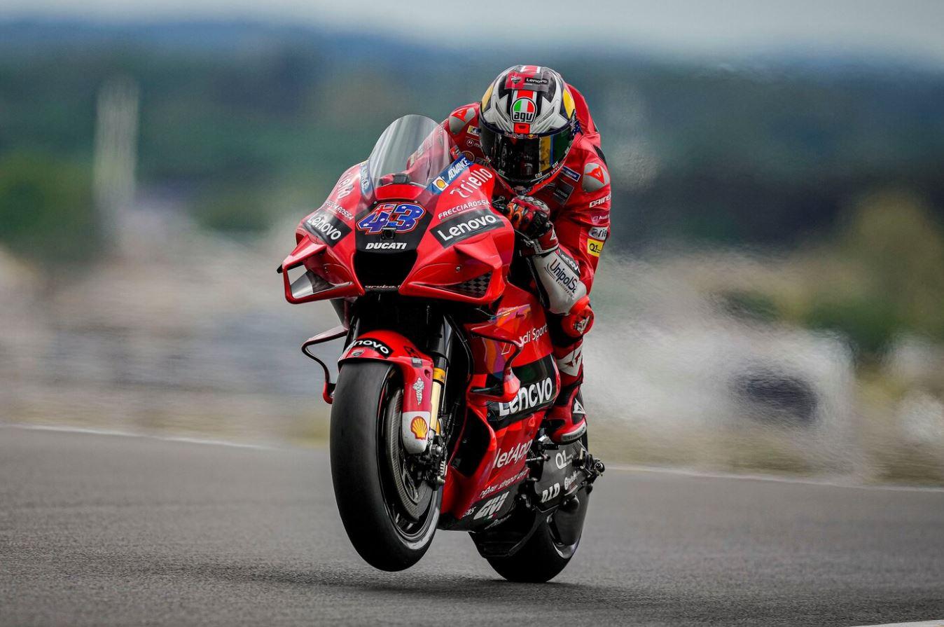 Jack Miller vaint tous les obstacles au Mans (Photo Ducati)