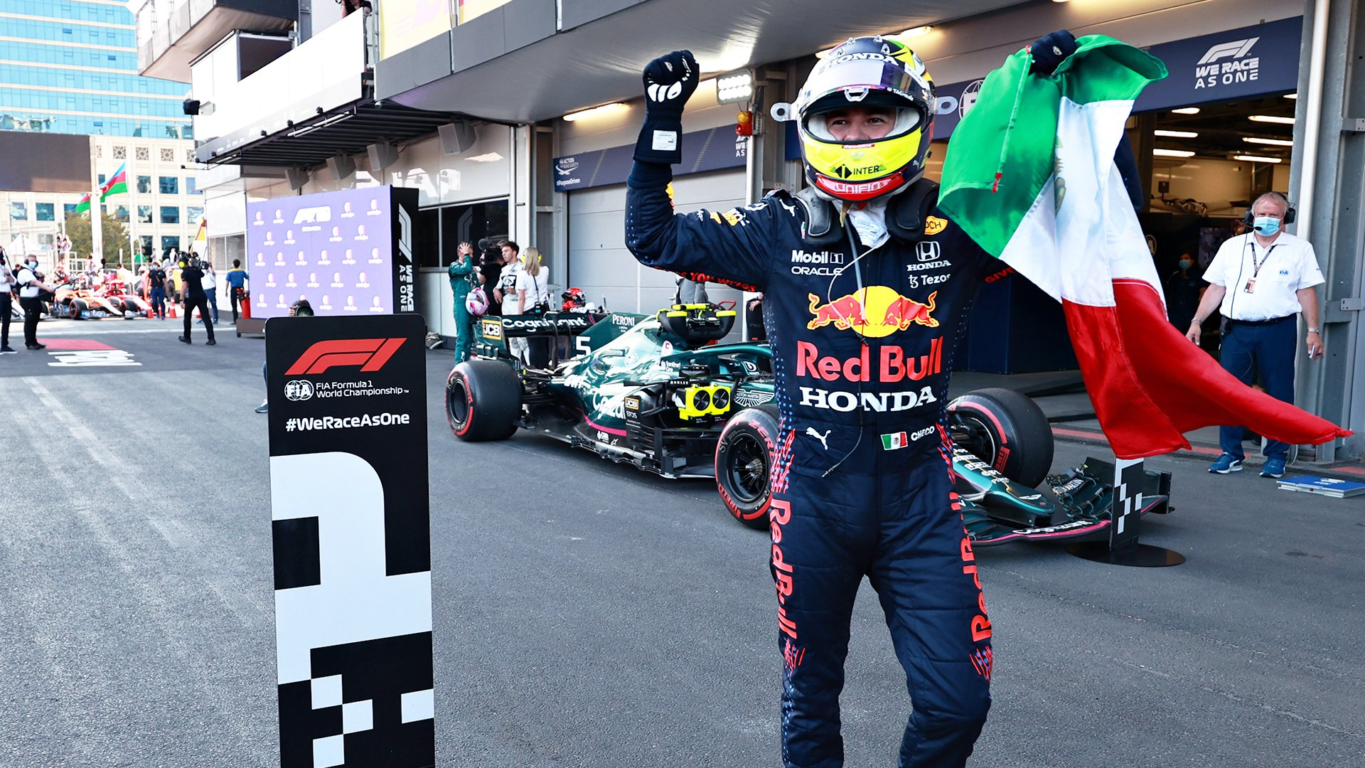 Perez vainqueur © RedBull Media