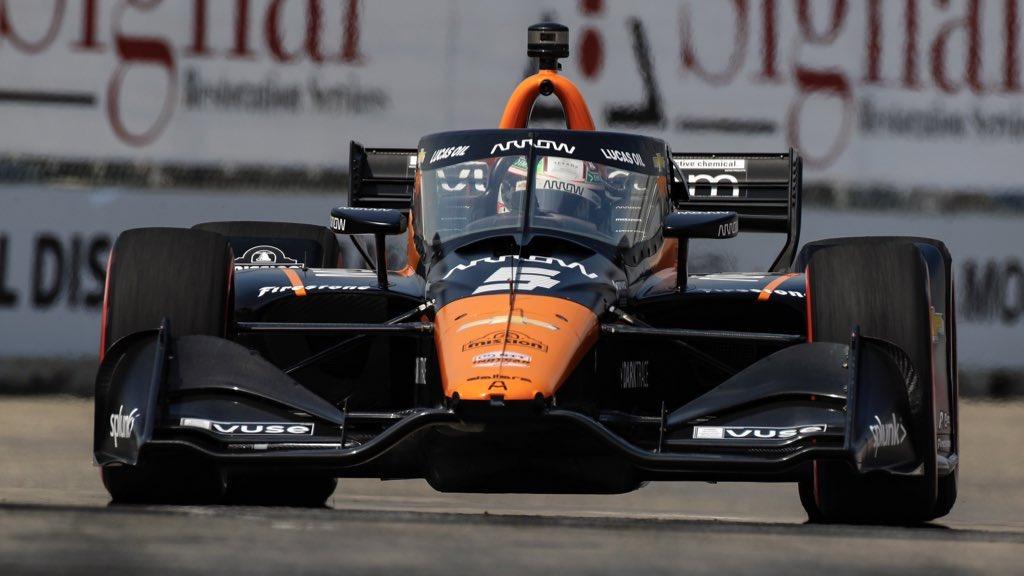 O'Ward intraitable en fin de course © Arrow McLaren