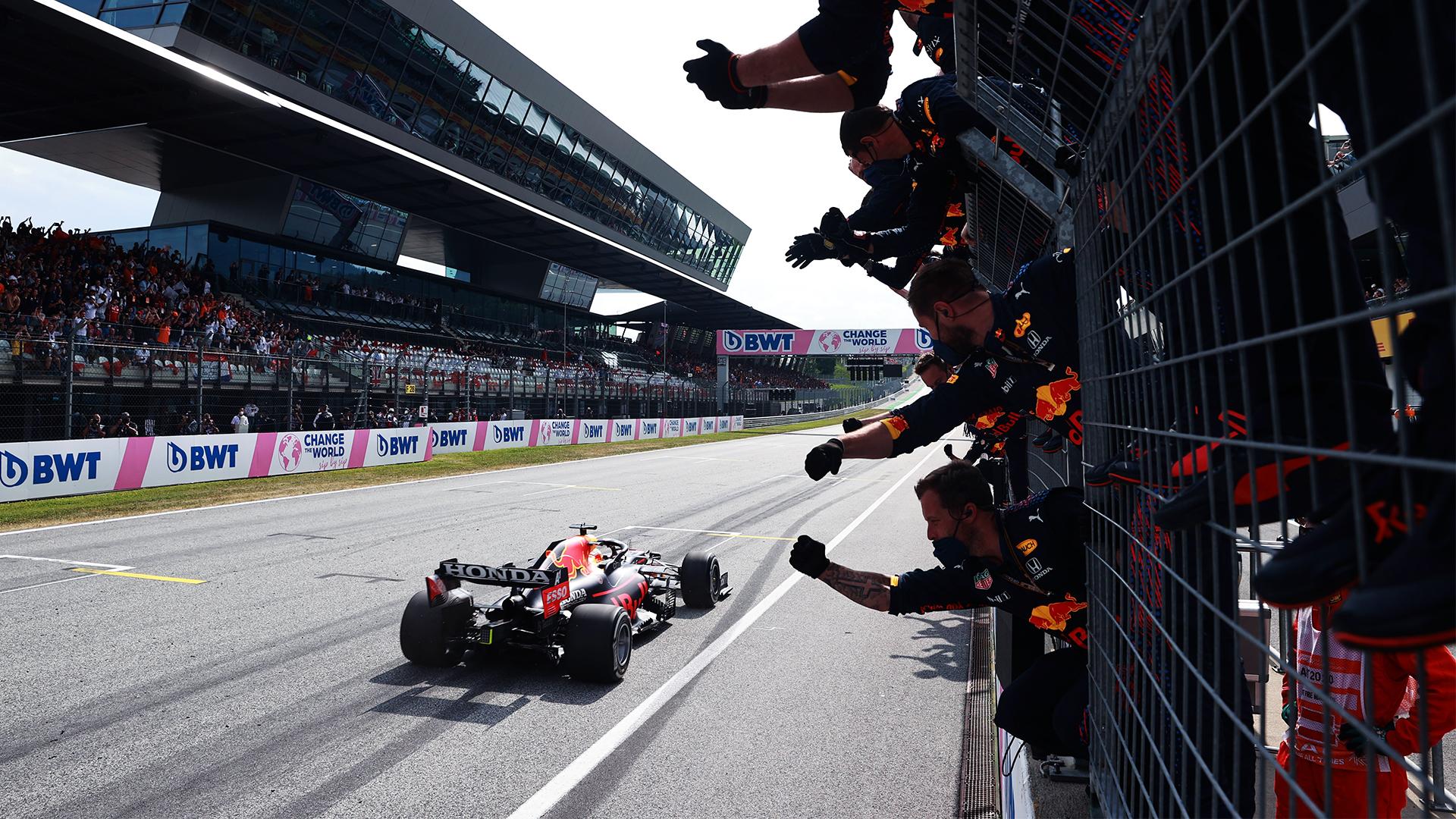 RedBull et Verstappen largement devant © RedBull Media