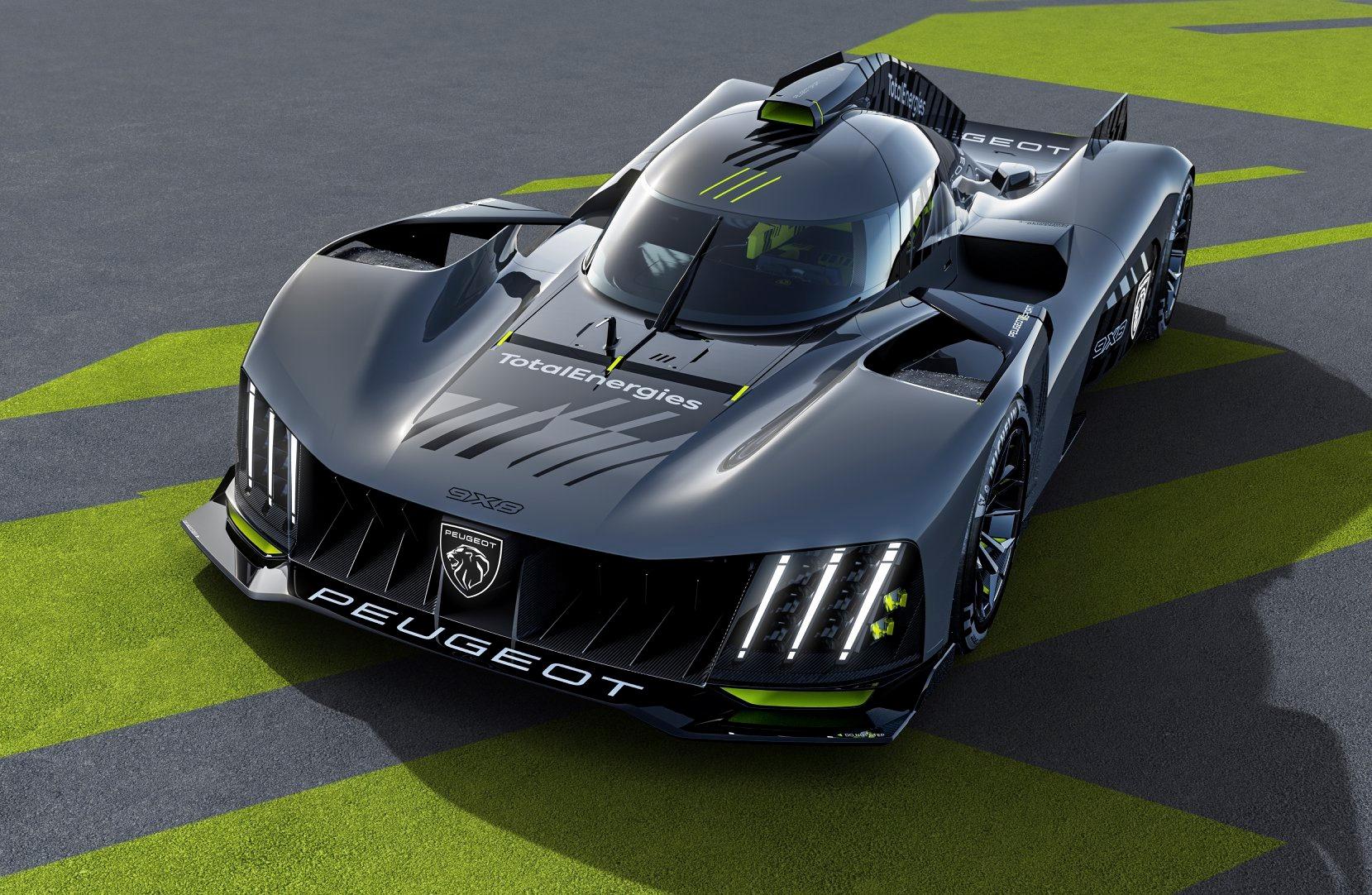 Peugeot dévoile son Hypercar Le Mans