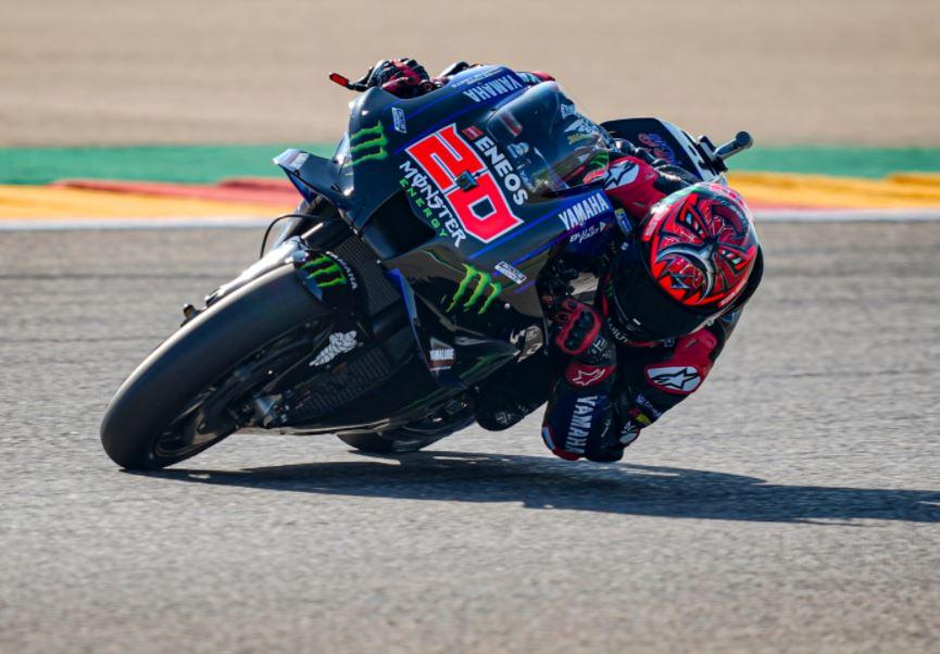 Une course au point pour Fabio (photo Yamaha)