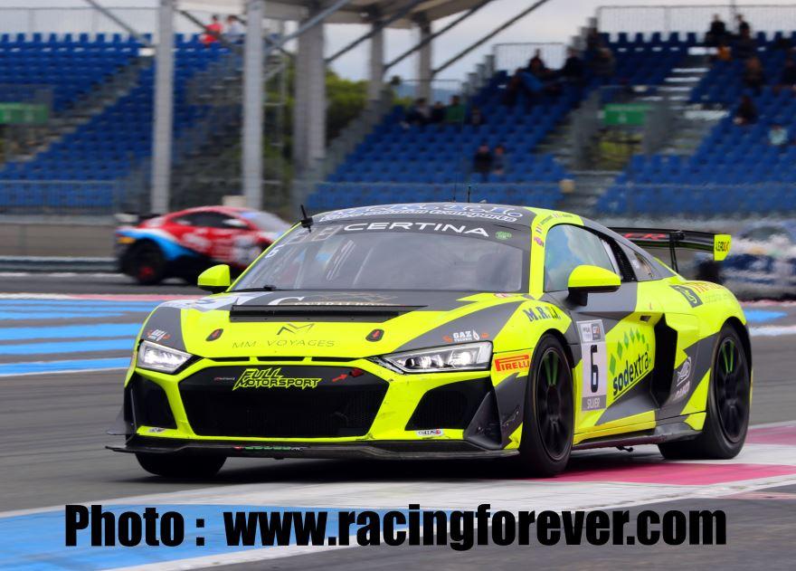 FFSA GT 2021 : Paul Ricard, course 2