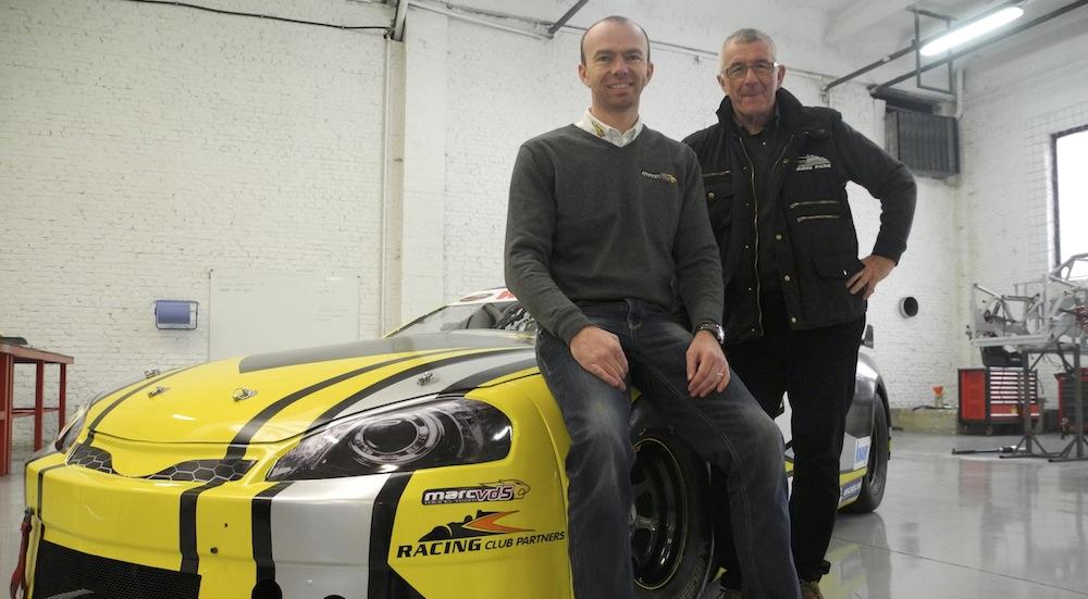 Bas Leinders, Team Principal et pilote de Marc VDS Racing, rejoint Franz Dubois et Racing Club Partners - Marc VDS Racing / RCP