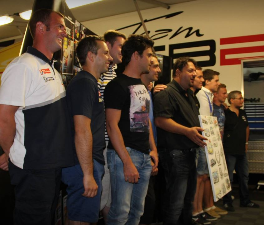 2014, les 10 ans de Racing Forever fêté chez TB2S