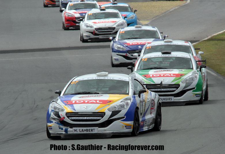 La compétition est relevée en Peugeot RCZ Cup