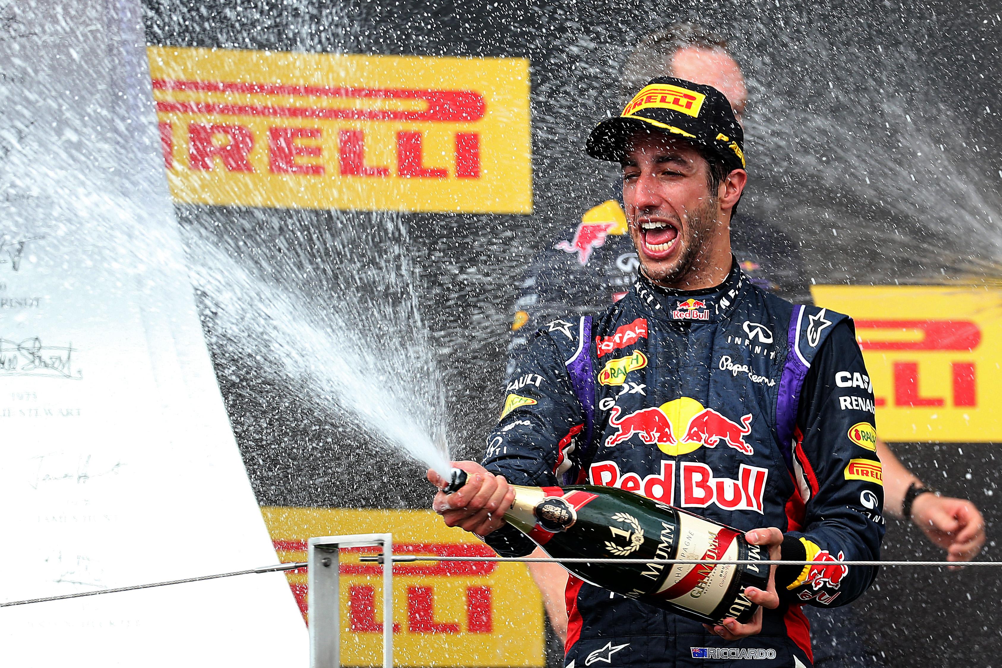 Une superbe victoire pour Ricciardo ( Thompson/Getty Images)