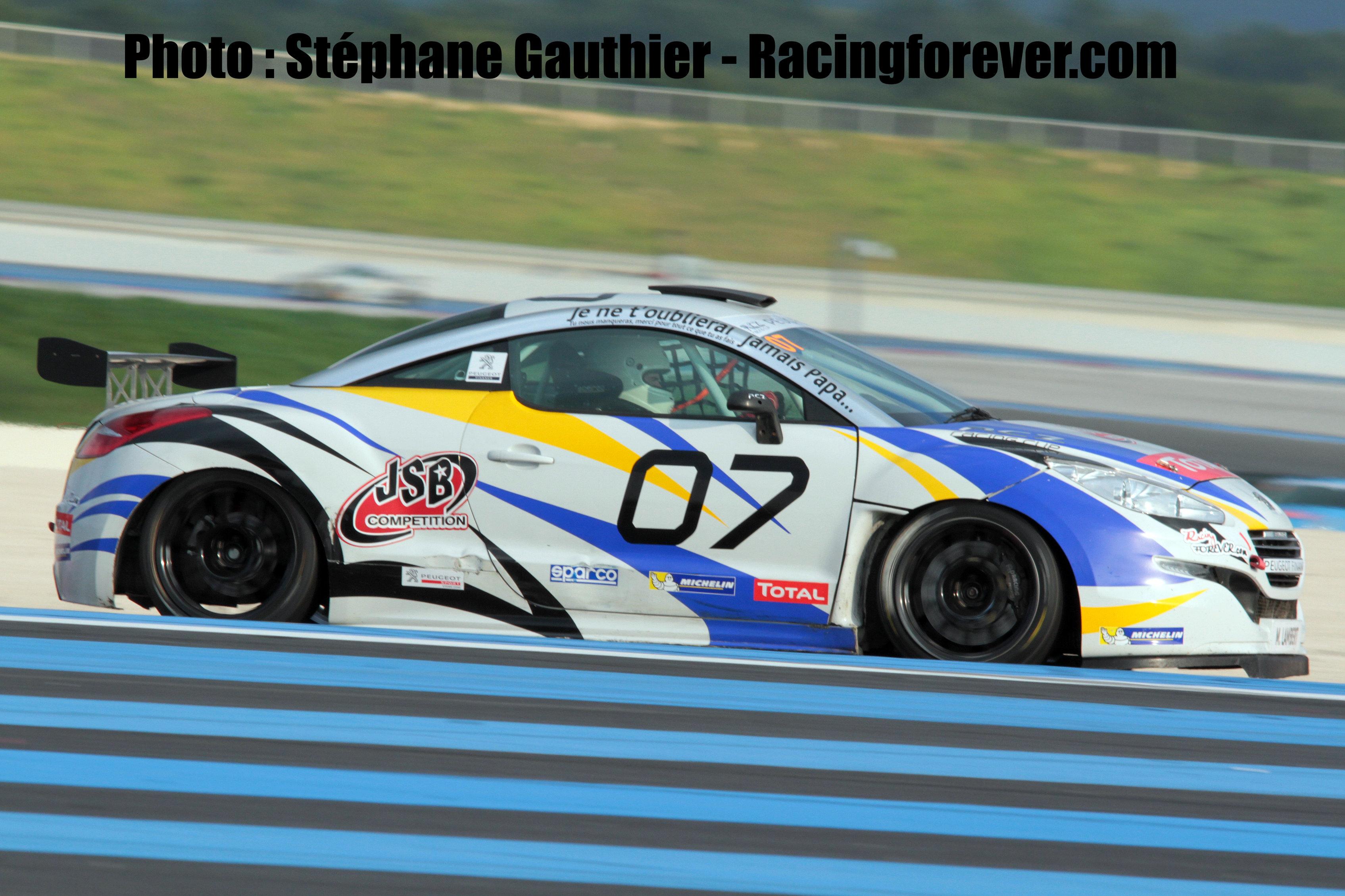 Peugeot Rcz Cup Mathieu Lambert Sur Le Podium Final