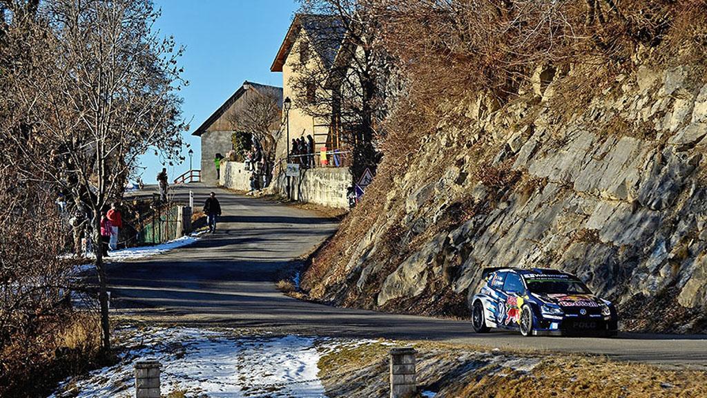 Deuxième victoire au Monté-Carlo pour Ogier : © Wolkswagen Motorsport