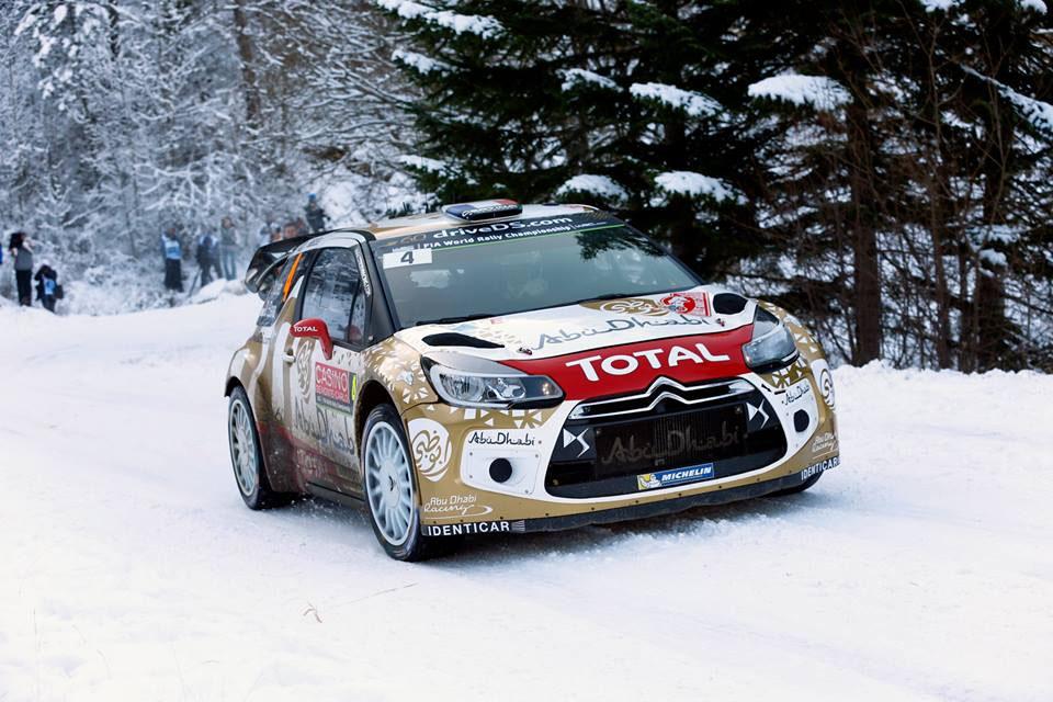 Loeb a longtemps joué la victoire : © Citroën Média