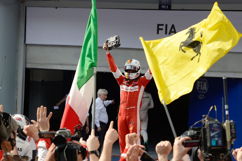F1 : Sebastien Vettel redonne des couleurs à Ferrari